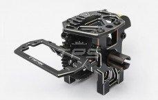 Triton Differentieel houder midden, (5B, 5T MINI WRC), Set