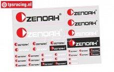 ZN8000 Powered by Zenoah Stickers, 1 st.