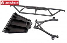 BWS59044/01 Chassisschutz mit halter vorne, (LOSI 5T & BWS), Set