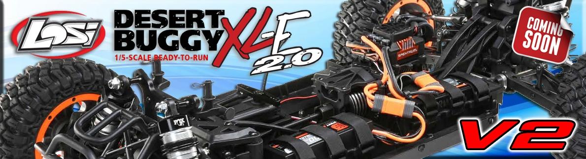 LOSI Desert Buggy XLE-2.0V2 Fox kap