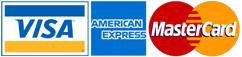 American Express-Mastercard-Visa