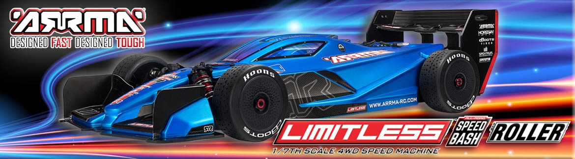 ARRMA Limitless Speed Machine