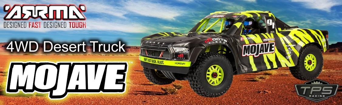 ARRMA 1/7 Mojave 6S BLX 4WD Groen/zwart RTR