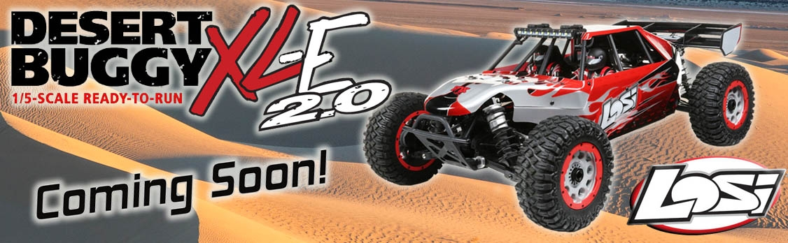LOSI Desert Buggy XLE-2.0 4WD LOSI RTR