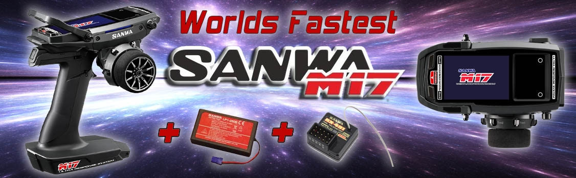 Sanwa M17+RX-491