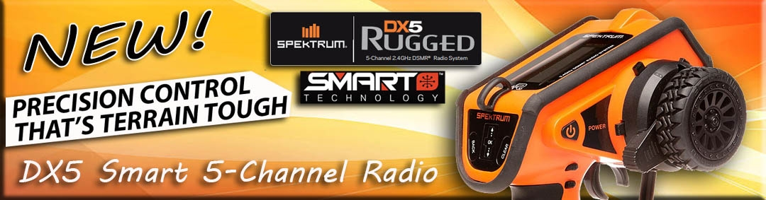 Spektrum DX5 Rugged Oranje